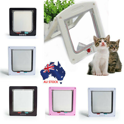 4 Colours Medium Small Large Pet Cat Puppy Door for Security Door and Screen