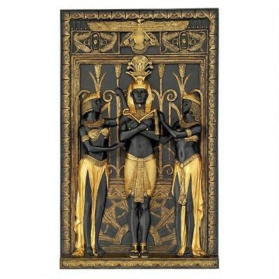 Ancient Egypt Egyptian Royal King Pharaoh Replica Treasure Wall Sculpture New