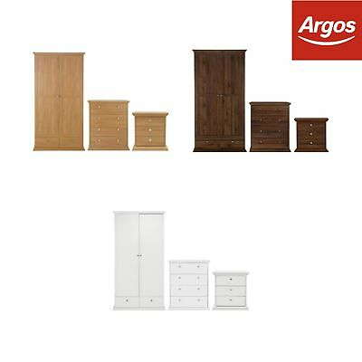Argos Home Canterbury 3 Piece Package - Choice of Colour