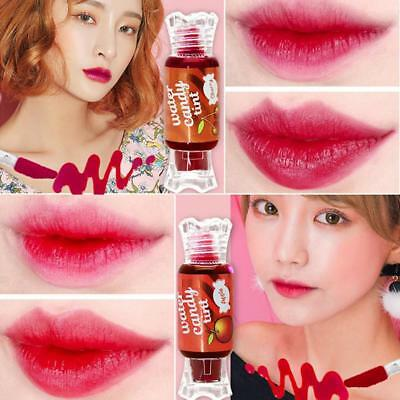 6 Color Fruit Lip Gloss Waterproof Long Lasting Lipstick Sweet Candy Lip Tint