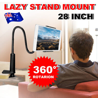Tablet Stand 360°Rotating Lazy Desk Mount Holder for Samsung iPad 3 4 6 Air Mini