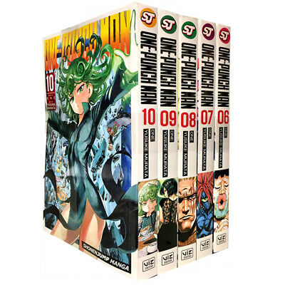 One-Punch Man Volume Collection 5 Books Set Childrens Manga Paperback NEW