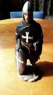 Medieval Gothic Knight Statuette