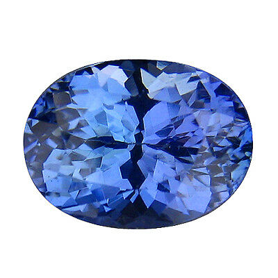 3.51Ct MIND BOGGLING ! TOP RICH FIRE AAA BLUISH VIOLET NATURAL TANZANITE