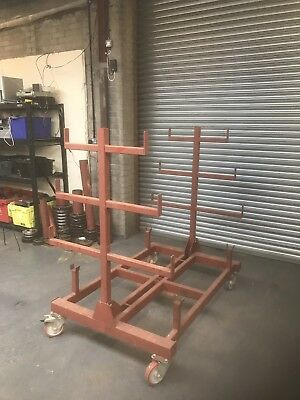 Tube / Pipe Rack, Idea For Site Or Workshop Storage.