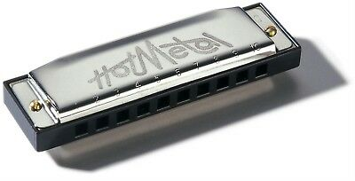 Hohner Hot Metal Harmonica in Bb