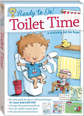 Ready to Go! Toilet Time A Training Kit For Boys Six Step Guide By Expert