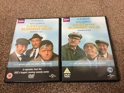 Last Of The Summer Wine Series 1-2 & 3-4 Complete Dvd Box Set MB24