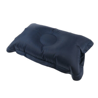Portable Ultralight Comfortable Breathable Inflatable Camping Pillow Navy