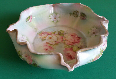 Silesia Floral Porcelain Bowl - Germany