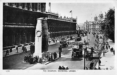 BR79580 the cenotaph whitehall london double decker bus real photo uk