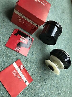 PATERSON SYSTEM 4 DEVELOPING TANK FOR 35mm FILM Boxed.