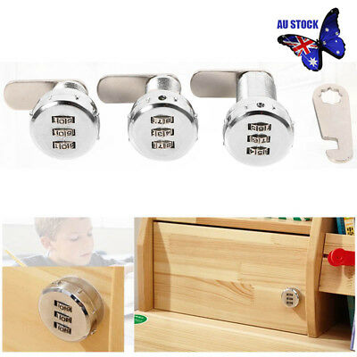 Combination Coded Lock Mail Box Cabinet Drawer Keyless Precision Safe Durable
