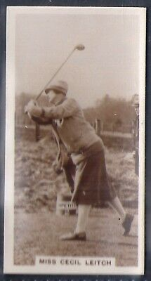 Millhoff-Famous Golfers Golf-#23- Miss Cecil Leitch