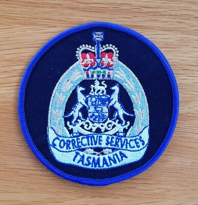 Old and Obsolete Tasmania Corrective Services Patch Prisons - Not Police