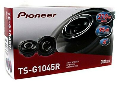 """Pioneer TS-G1045R Pair of 2-Way 4"""" inch 250W Flush-Mount Coaxial Car Speakers"""