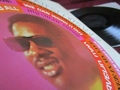 STEVIE WONDER ♫ GREATEST HITS ♫ IN TOP CONDITION RARE 1st PRESS 1971 FUNK SOUL