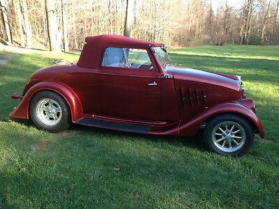1933 Willys Model 77 Roadster 1933 Willys All Steel Roadster