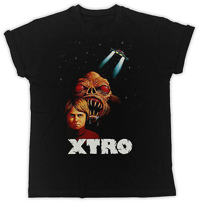 Cool Xtro Poster Slogan Ideal Gift Unisex Black T-Shirt