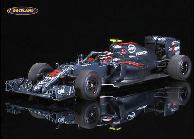 McLaren MP4-31 Honda Halo Test F1 GP Italien 2016 Jenson Button, Spark 1:43