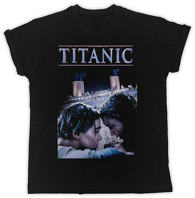 Cool Titanic  Dark Poster Slogan Ideal Gift Unisex Black T-Shirt