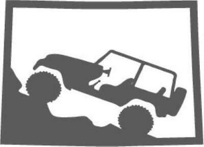Jeep Wrangler Michigan State Outline Decal