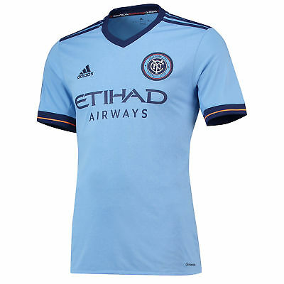 adidas New York City FC Home Shirt 2017-18 Mens Gents Football Jersey Top