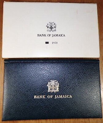 1977 Jamaica Star Banknote Collector Set, 4 Uncirculated Banknotes