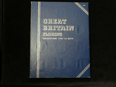 Whitman Folder : Great Britain Florins Collection 1941 to date (1967)