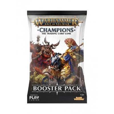 WARHAMMER AOS: CHAMPIONS * Warhammer Age of Sigmar: Champions Booster Pack