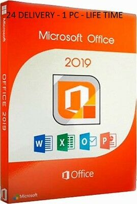 Microsoft Office 2019 Professional KEY LIFE TIME - 1 pc