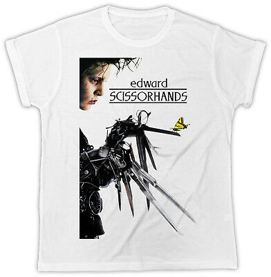 Cool Edward Scissorhands Movie Poster Ideal Present Unisex Retro Cool Tshirt
