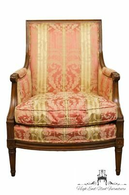HENREDON FURNITURE Louis XVI French Style Upholstered Accent Arm Chair 6871
