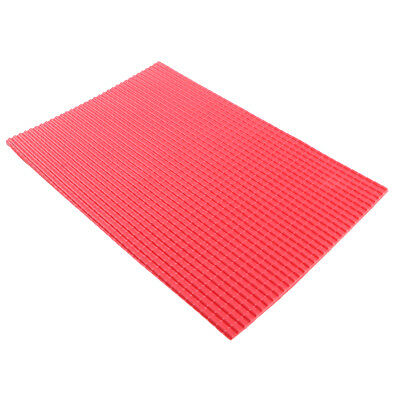 5Pcs 20x30cm Architecture Model Material PVC Tile Roof Sheet Plastic 1/25