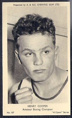 A&bc-All Sports (M120)-#107- Boxing - Henry Cooper