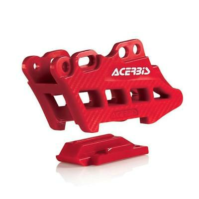 Acerbis Chain Guide Block 2.0 Red Honda CRF250R/CRF450R/CRF250X/CRF450X