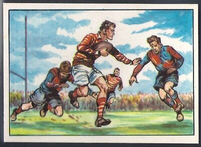 Chix-Sport Through The Ages 1968-#21- Rugby