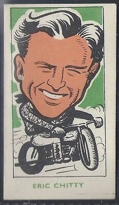 Kiddys Favourites-Popular Speedway Riders-#27- West Ham - Eric Chitty