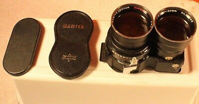 Mamiya Sekor Super 180mm f/4.5 TLR Lens for C330 C220 & C3