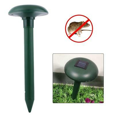 Ultrasonic Waves Solar Powered Outdoor Garden Pest Rodent Mouse Repeller BE