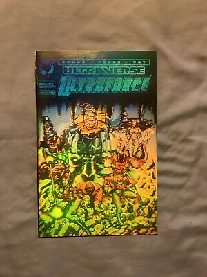 Ultraverse Ultraforce Comic Book #1 (Holographic Limited Edition )