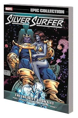 SILVER SURFER: INFINITY GAUNTLET TPB Marvel Comics Epic Collection #7 TP SRP $35
