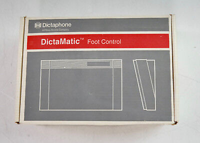 Dictaphone Dictamatic Transcriber Foot Pedal Control (P/N:177585, ECR 26710)