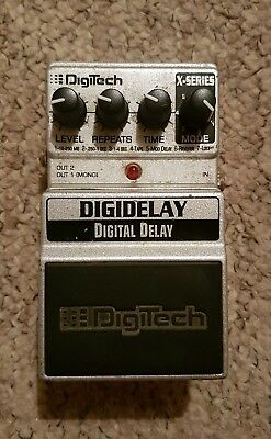 digitech digidelay Guitar Pedal Delay pedal with tap tempo