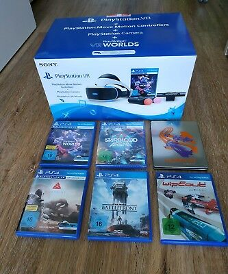 Sony Playstation 4 VR Brille Ps4 Bundle