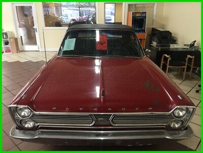1966 Plymouth SPORT FURY  1966 Plymouth Sport Fury Convertible, MUST SEE, BARN FIND, 383, Automatic
