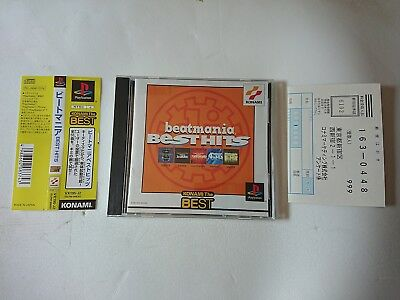 Beatmania Best Hits Sony Playstation Game Videogames Ps Jap Japanese Psx Ps1
