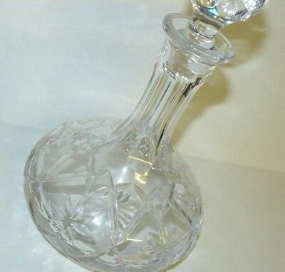 Waterford? Crystal Ships Decanter - Gorgeous