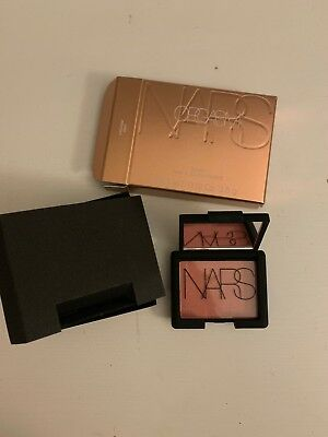 NARS Mini Blush Shade Orgasm in mirrored Compact – 3.5g New / Boxed