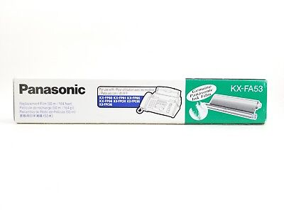 Genuine Panasonic KX-FA53 Replacement Ink Film-KX-FP80, KX-FP81,KX-FP85, KX-FP86